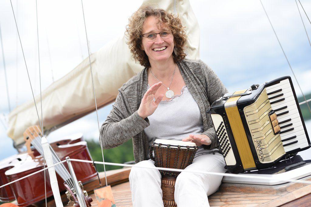 Musik auf Boot