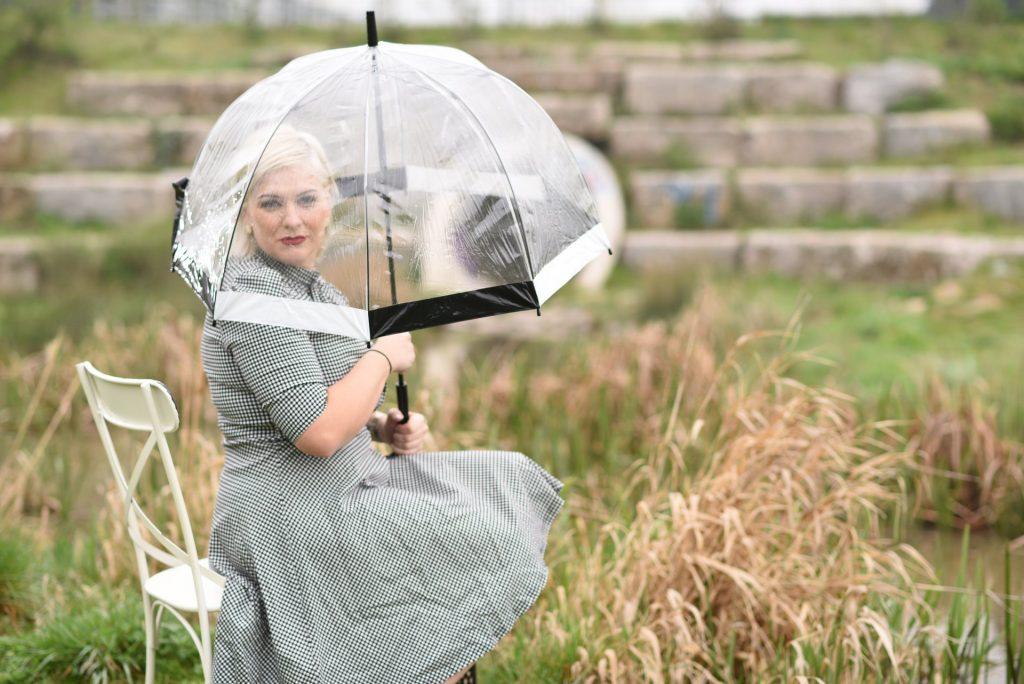 umbrella under