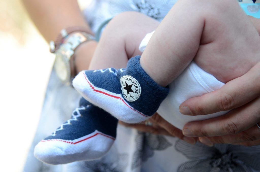 Converse All Star Hochzeit Baby