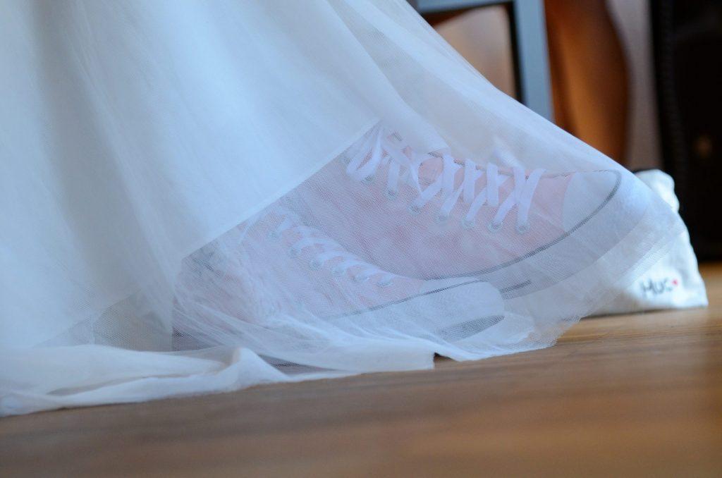 Converse All Star Hochzeit Frau