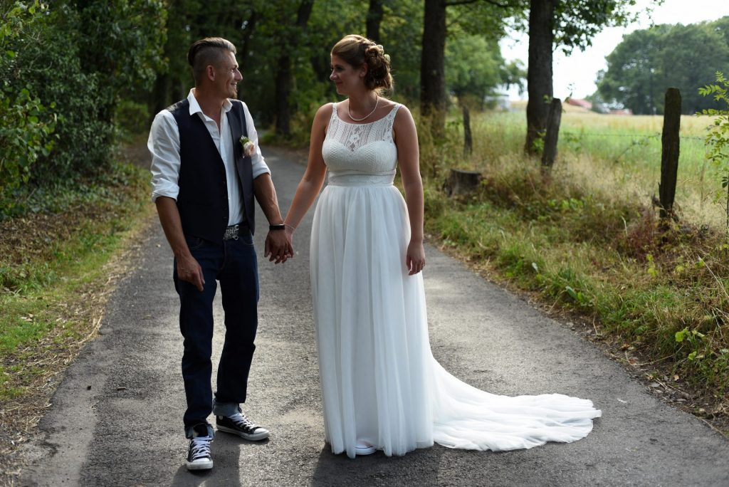 Hochzeit Spazieren