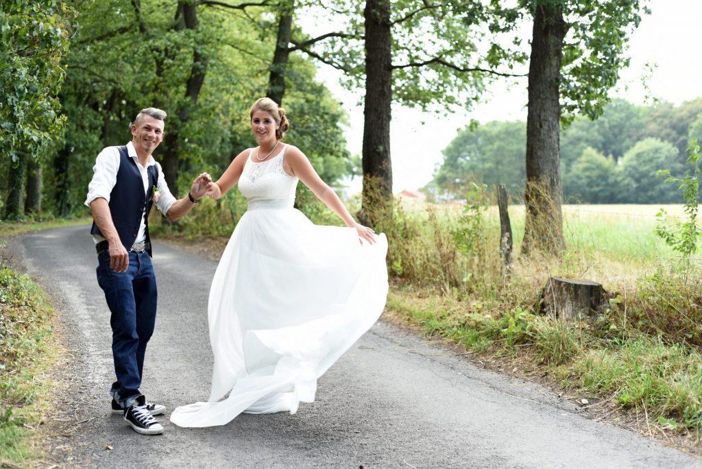 Hochzeit Spazieren Tanzen