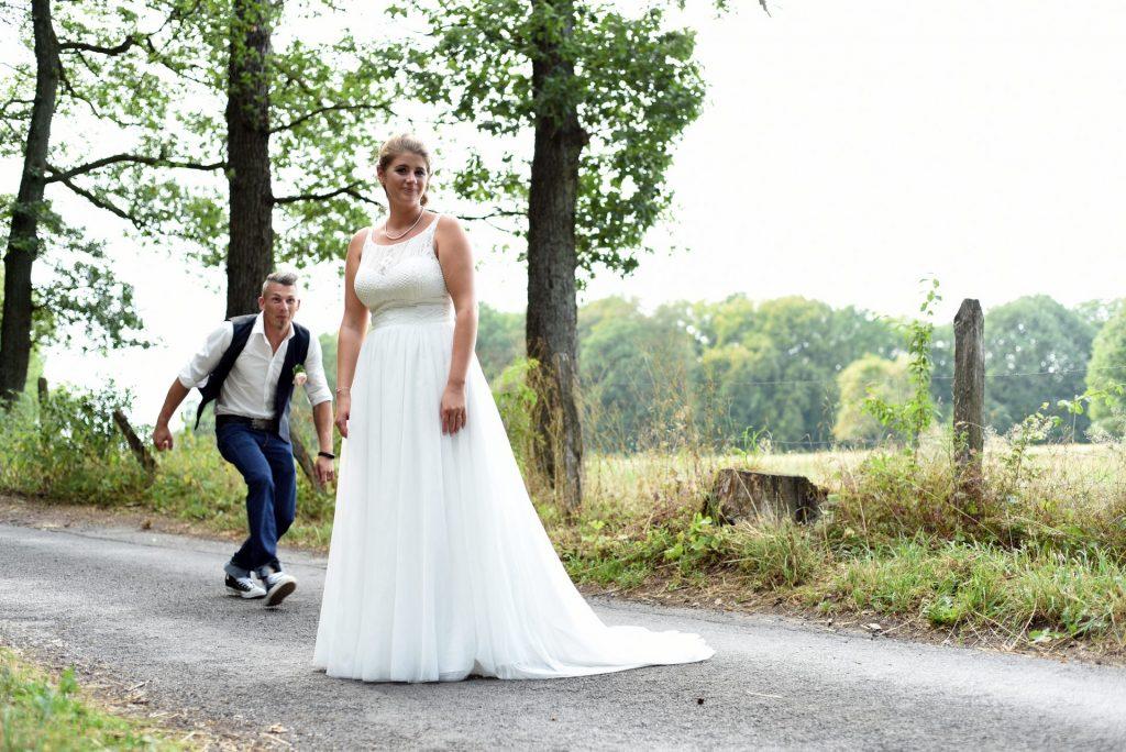 Hochzeit Spazieren anlauf