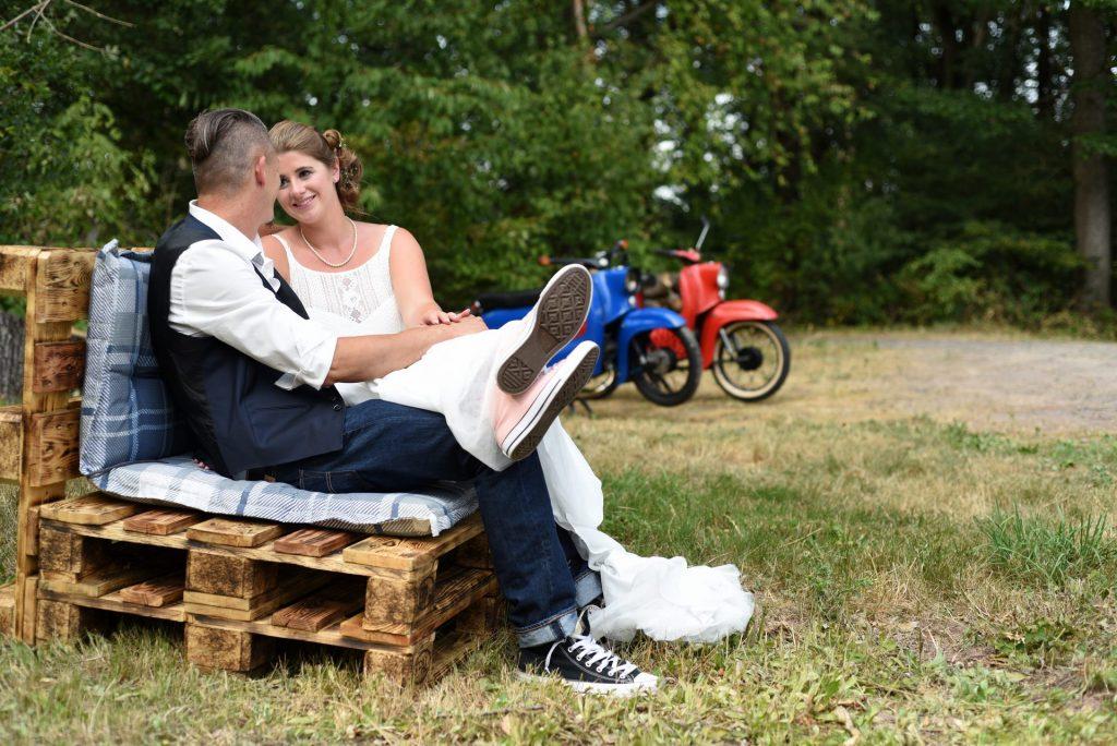 Simson Hochzeit Converse