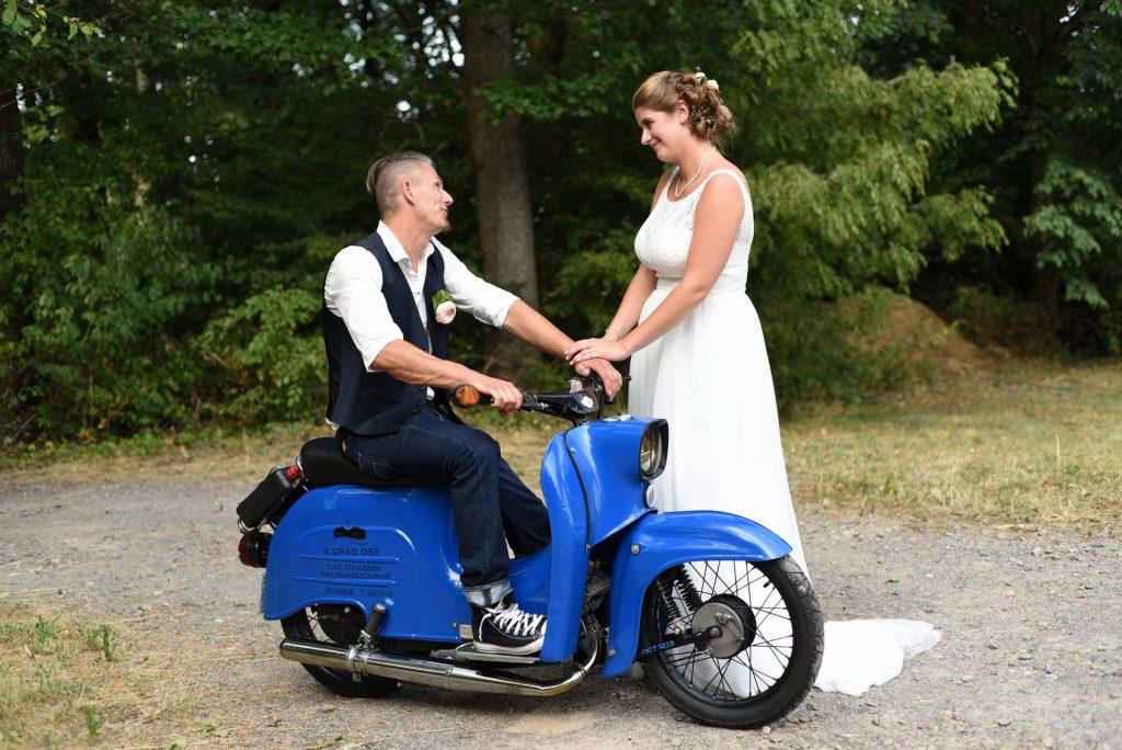 Simson Hochzeit halten